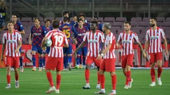 Link Live Streaming Barcelona vs Atletico Madrid, Liga Spanyol 8 Mei 2021