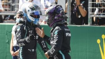 Bottas Pole Position, Hamilton Start Posisi Kedua di F1 GP Austria