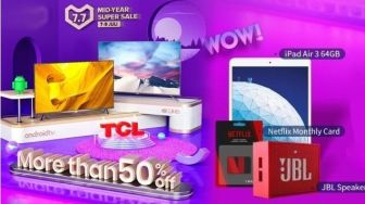 TCL 32A5 dan 43A8 Bakal Diskon Up to 50% di Lazada Mid Year Campaign