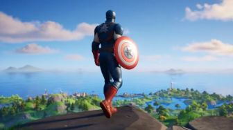 Hore...Captain America Hadir di Game Fortnite