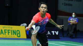 PBSI Home Tournament: Jonatan Christie Susah Payah Tundukkan Ikhsan