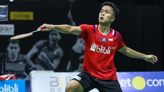 Lama Tak Tanding, Anthony Ginting Sempat Gugup Main di PBSI Home Tournament