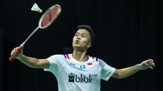 PBSI Home Tournament: Petik Dua Kemenangan, Anthony Ginting Belum Puas