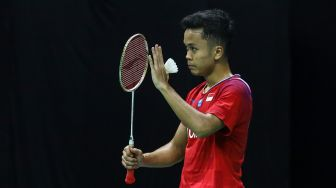 PBSI Home Tournament: Anthony Ginting Hadapi Shesar di Final