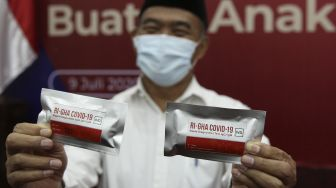 Alat Rapid Test Covid-19 Buatan Indonesia
