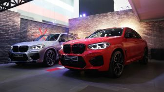 Launching Dua Mobil Sport: BMW X3 M Competition, BMW X4 M Competition