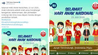 Arie Kriting Heran Sosok Anak Papua Tidak Ada di Poster Hari Anak