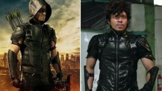 Heboh Baju Superhero Atta Halilintar di Ashiap Man Mirip Green Arrow