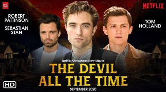 The Devil All The Time, Robert Pattinson Jadi Pendeta Berhati Gelap
