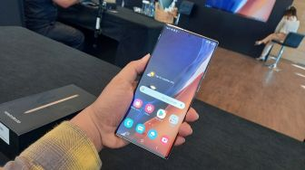 Samsung Galaxy Note 20 Ultra Jadi HP 5G Terlaris di Dunia