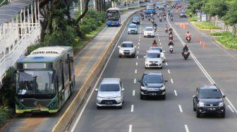 PSBB Total Jilid II Hari Pertama di Jakarta, Lalu Lintas Padat