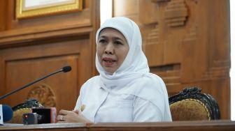 Tak Ada Gejala, Gubernur Jawa Timur Khofifah Terkonfirmasi Positif Covid-19