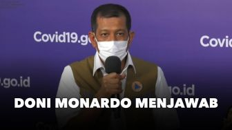 LIVE STREAMING: Media Bertanya Doni Monardo Menjawab