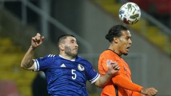 Hasil UEFA Nations League: Belanda Ditahan Imbang Bosnia 0-0