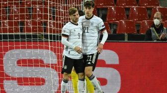 Hasil UEFA Nations League: Parade 6 Gol di Cologne, Jerman Diimbangi Swiss