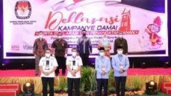 Ini Pesan Pjs Walikota Saat Deklarasi Kampanye Damai di Bukittinggi
