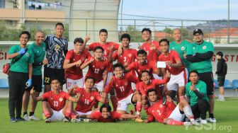 Laga Internal Game, Timnas Indonesia U-19 Cetak Lima Gol