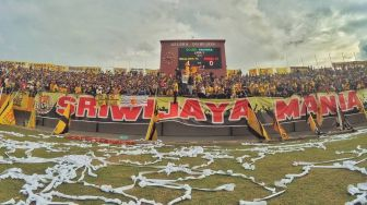 Suporter Sriwijaya FC: No Kompetisi, No Party!