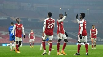 Link Live Streaming Arsenal Vs Rapid Vienna, Liga Europa 4 Desember
