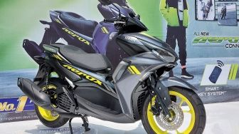 Sensasi Menjajal All New Aerox 155 Connected