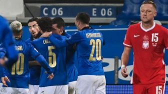 Hasil UEFA Nations League: Tundukkan Polandia, Italia Pimpin Klasemen