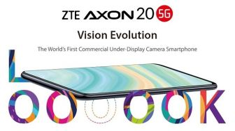 HP Berkamera Under Display Pertama di Dunia, ZTE Axon 20 5G Dirilis Global