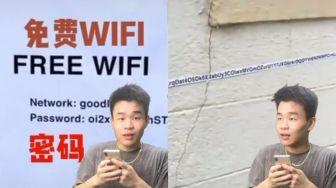 Antimainstream! Password Wifi Panjang Banget, Warganet: Auto Tinggalin