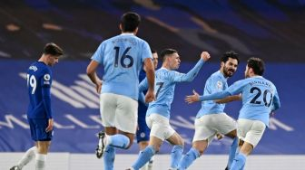 Manchester City Vs Chelsea Hadirkan All English Final Liga Champions Ketiga