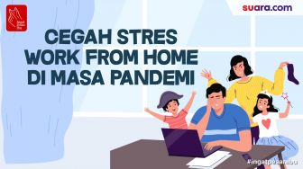 Videografis: Cegah Stres Work From Home di Masa Pandemi