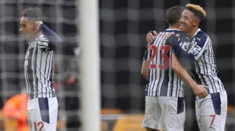 Hasil Wolves vs West Brom: The Baggies Menang 3-2