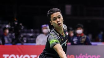 Anthony Ginting Tak Berdaya Hadapi Axelsen di BWF World Tour Finals