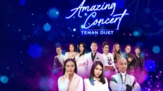 Perdana, Juri The Voice Kids Indonesia Duet di Acara Amazing Concert