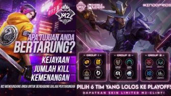 Jadwal M2 Mobile Legends 19 Januari 2021, Tim Indonesia Main Hari Ini