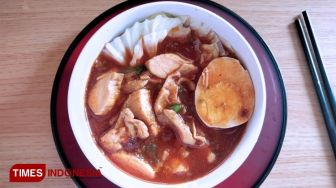 Longing for Korean Noodle? You could Have it at Waroeng Dolan Cirebon