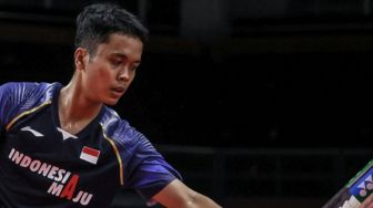 Kalah Lagi, Anthony Ginting Gagal ke Semifinal BWF World Tour Finals