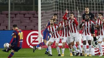 5 Hits Bola: Prediksi Athletic Bilbao Vs Barcelona di Final Copa del Rey