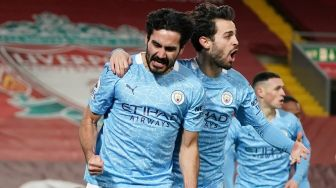 Monchengladbach Vs Man City: The Citizens Menang 2-0