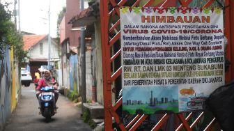 Suasana PPKM Mikro di Jakarta