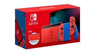 Terbatas! Konsol Nintendo Switch Mario Red & Blue Edition Siap Dibeli