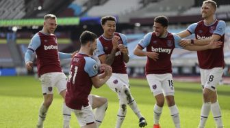 Lingard Terus Moncer, West Ham Hajar Tottenham di Derby London