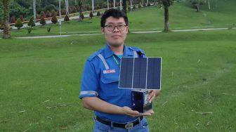 Mahasiswa Riau Ciptakan Panel Surya Portabel, Bisa Lacak Sinar Matahari