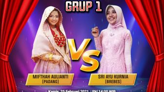 Battle Six Grup 1 Bintang Suara, Mifthah Aulianti vs Sri Ayu Kurnia