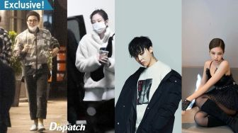 Tertangkap Kamera Dispatch, G-Dragon dan Jennie Pacaran?