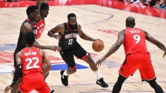 Houston Rockets Bakal Pensiunkan Jersey No.13 Milik James Harden
