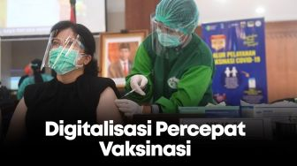 Digitalisasi Percepat Program Vaksinasi Covid-19