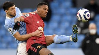 Puji Performa Martial di Derby Manchester, Ole: Layak Jadi Man of the Match
