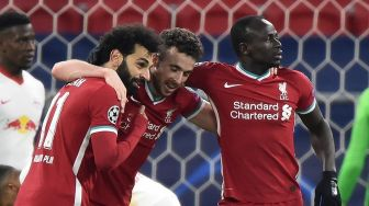 Liverpool Vs RB Leipzig: Gol Salah dan Mane Bawa The Reds ke Perempat Final