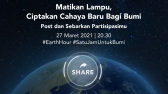 BNI Dukung Earth Hour 2021 bersama Greenpreneur Local Heroes