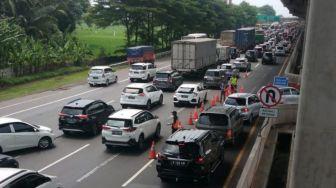 Pasca Libur Paskah, 74 Ribu Kendaraan Masuk ke Jakarta