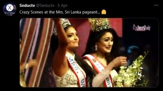 Profil Caroline Jurie, Mrs World Sri Lanka Copot Paksa Mahkota Juniornya